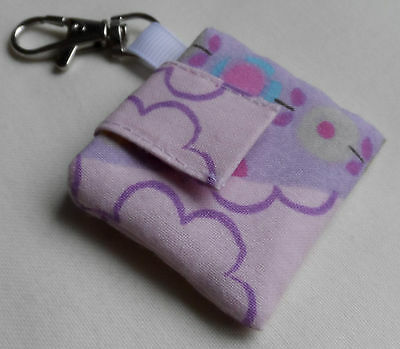 Handmade IPod Shuffle 4th Generation Case/Cover/Pouch. Patterned Cotton. • 4.60£
