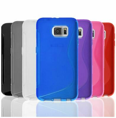 AU4.45 • Buy S-Curve Soft Ultra Slim Gel Cover TPU Case For Samsung Galaxy S7 & S7 Edge S8 S9