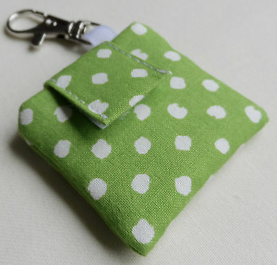Handmade IPod Shuffle 4th Generation Case/Cover/Pouch. Spotted Cotton. • 4.60£
