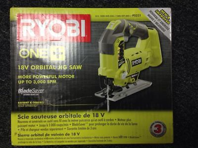 Ryobi  P5231 18-Volt ONE+ Orbital Jig Saw, Newly Upgraded From P523 (Tool-Only) • 58.51£