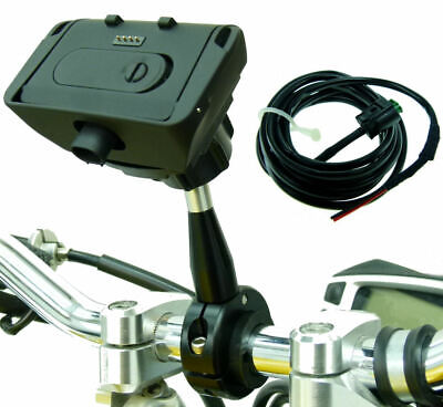 £97.98 • Buy Extended 9cm Metal Motorcycle Mount Dock Charger For TomTom Rider 2 Urban & PRO