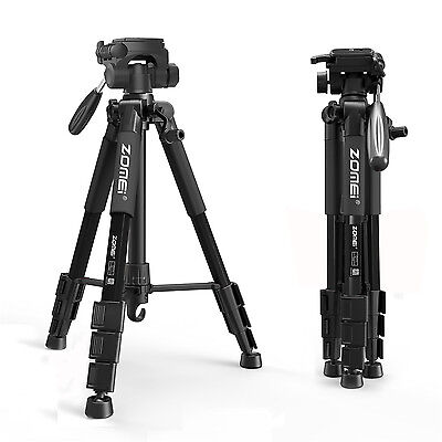 AU37.99 • Buy ZOMEI Pro Aluminum Tripod Stand Portable For Canon Nikon Sony DSLR Camera DV