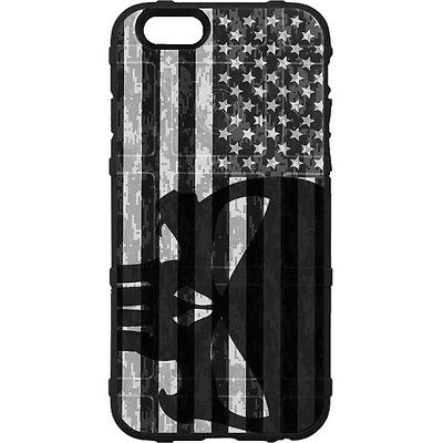 $39.95 • Buy Magpul Field Case For IPhone SE,4,5,5s. Black Punisher Sideways Subdued US Flag