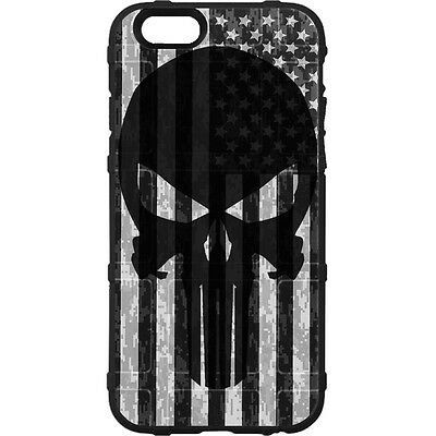 $39.95 • Buy Magpul Field Case For IPhone SE,4,5,5s. Custom Black Punisher Subdued USA Flag