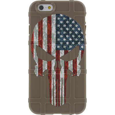 $39.95 • Buy Magpul Field Case For IPhone SE,4,5,5s.  Custom FDE Punisher USA Flag