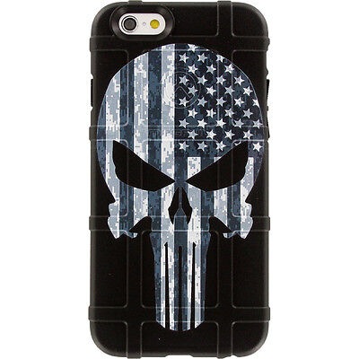 $39.95 • Buy Magpul Field Case For IPhone SE,4,5,5s. Punisher Black Sub. USA Flag EgoTactical