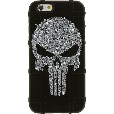 $39.95 • Buy Magpul Field Case For IPhone SE,4,5,5s. Custom Punisher Skulls By Ego Tactical