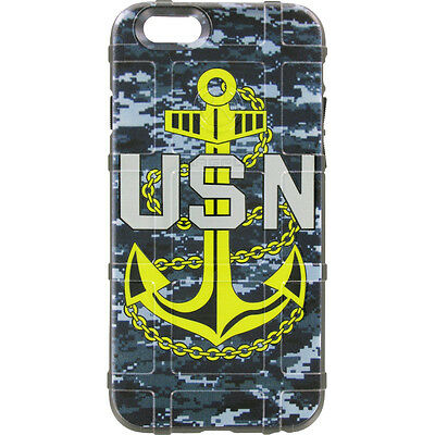 $39.95 • Buy Magpul Field Case For IPhone SE,4,5,5s. Custom US Navy By Ego Tactical