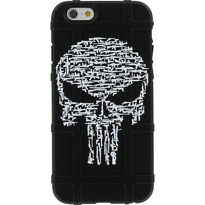 $39.95 • Buy Magpul Field Case For IPhone SE,4,5,5s. Custom Punisher Guns By Ego Tactical