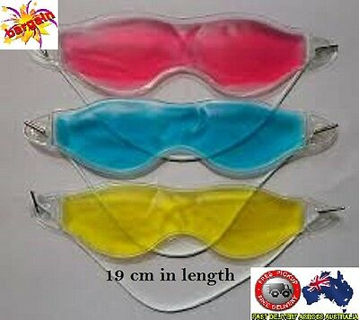 AU5.20 • Buy Gel Eye Mask Cold Pack Warm Hot Heat Ice Cool Soothing Tired Eyes&Headache Pad