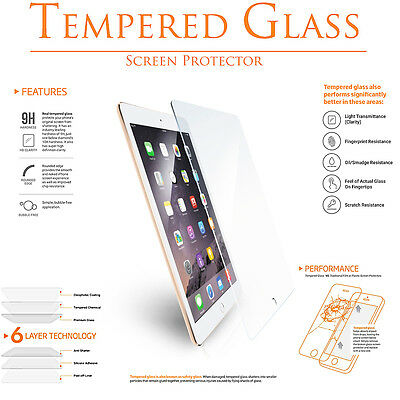 Premium Tempered Glass Clear LCD Screen Protector For Apple IPad Pro 9.7 Retina • 6.45£