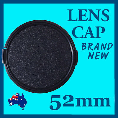 AU5.99 • Buy 52mm High Quality Lens Cap Cover For Canon Nikon SONY