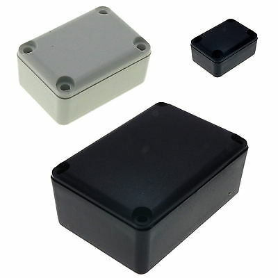 £4.50 • Buy ABS Plastic Box For Electronics Hobby Projects Enclosure Case ALL Sizes UK