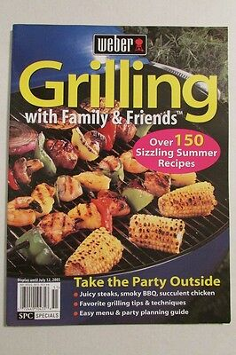 $ CDN10.75 • Buy Magazine - Weber - Grilling With Family & Friends - Over 150 Sizzling Recipes