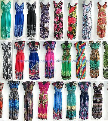 $149.99 • Buy Wholesale Lot Of 20 Long Dress Maxi Sundress Beach Bohemian Clothes Women Summer