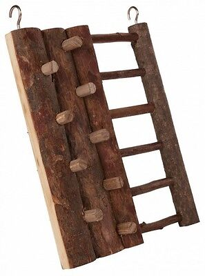 Hamster Toy CLIMBING WALL & LADDER Real Wood Wooden Toy Mouse Gerbil Etc 16×20cm • 6.33£