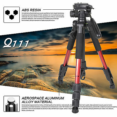 AU32.29 • Buy ZOMEI Q111 Pro Portable Aluminum Tripod Panhead For Canon Nikon DSLR Camera DV