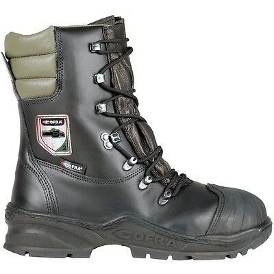 Cofra Power Chainsaw Safety Boot A E P FO WR HRO SRC • 82.90£