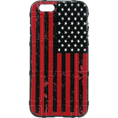 $39.95 • Buy Magpul Field Case For IPhone SE,4,5,5s. Custom Black-Red Subdued USA Flag