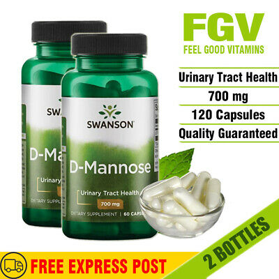 AU80.80 • Buy Swanson D-Mannose 700 Mg 120 Capsules URINARY TRACT & BLADDER HEALTH SUPPORT