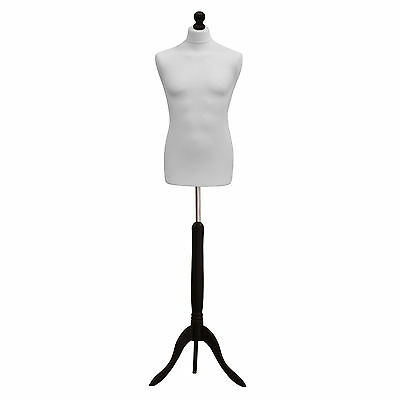 ❤ Size 40 Male Tailors Dressmaker Mannequin Bust Fashion Dummy Retail Display • 31.14£