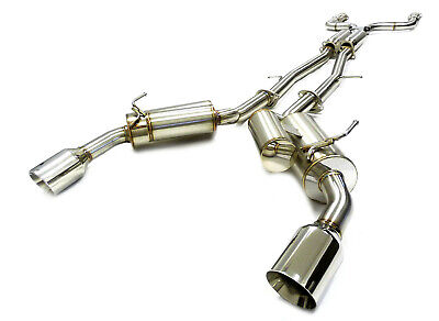 $ CDN904.47 • Buy OBX Stainless Catback Exhaust Fit 2014 15 16 17 18 Infiniti Q50 3.7L VQ37VHR