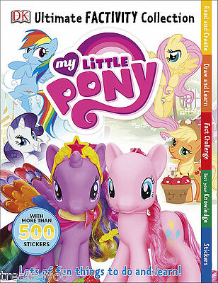 My Little Pony Colouring Books Art Carry Along Ultimate Factivity Pad Pop Out • 3.99£