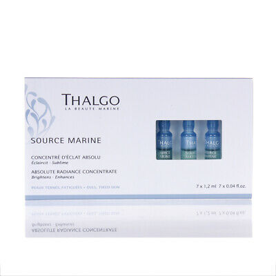 £36.74 • Buy Thalgo Source Marine Absolute Radiance Concentrate 7x0.04oz/1.2ml NEW IN BOX