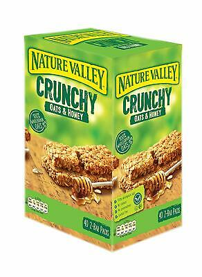£19.04 • Buy Nature Valley Crunchy Oats & Honey Cereal Bars 40 2-Bar Packs, Made In Spain