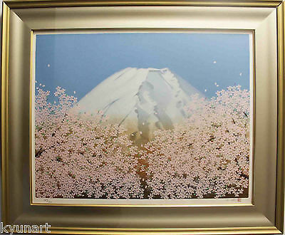 $ CDN1193.08 • Buy Listed Japanese Artist Chinami NAKAGIMA, Original Silkscreen Print Signed,