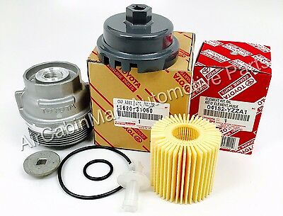 $61.54 • Buy NEW GENUINE Oil Filter And Housing Cap 15620-31060 WITH CAP PLUG AND WRENCH