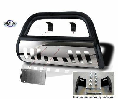 $1134.99 • Buy 2002-2012 Jeep Liberty Classic Bull Bar In Black With Stainless Steel Skid