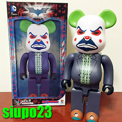 $239.99 • Buy Medicom 400% Bearbrick ~ DC Comics The Joker Be@rbrick Bank Robber Ver Batman