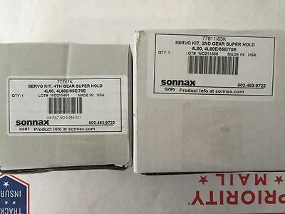AU217.22 • Buy 700R4 700 4L60 4L60E 4L65E 4L70E Sonnax Super Hold Servo Kit 2nd 4th Automatic