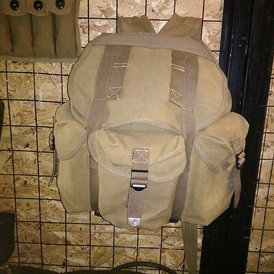 $29.99 • Buy Wwii Ww2 Us Army Musette M14 Military Haversack Linen Military Backpack Pouch