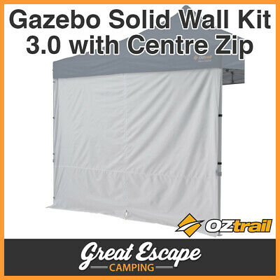 AU49.90 • Buy Oztrail Gazebo Solid Wall 3.0 M Centre Zip