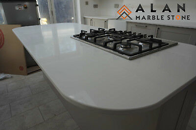 Pure White Quartz Kitchen Worktop |Affordable Prices |Quality Guarranted  • 245£