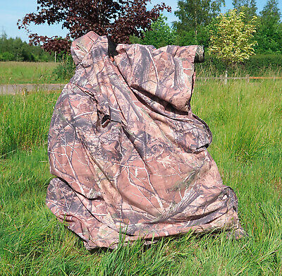 £59.95 • Buy LIGHTWEIGHT CAMOUFLAGE BAG HIDE For Wildlife Bird Watching Photography Leaf
