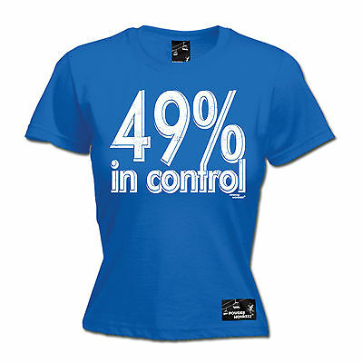 AU18.64 • Buy 49% In Control WOMENS T-SHIRT Snowboard Skiing Snowboarding Ski Mothers Day Gift