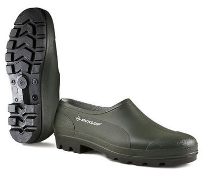 Gardening Shoes Waterproof Rain Clogs Garden Dunlop Green Rubber Summer Wellies • 11.99£