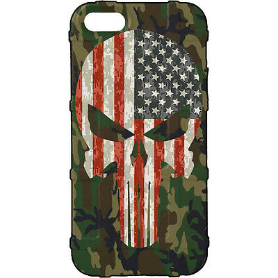 $39.95 • Buy Magpul Field Case For IPhone SE,4,5,5s.  Custom ERDL US Woodlands USA Punisher