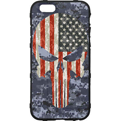 $39.95 • Buy Magpul Field Case For IPhone SE,4,5,5s. Custom Navy Digital Camo USA Punisher