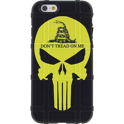 $39.95 • Buy Magpul Field Case For IPhone SE,4,5,5s. Custom Don't Tread On Me Yellow Punisher