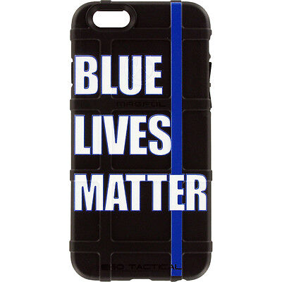 $39.95 • Buy Magpul Field Case For IPhone SE,4,5,5s. Custom Blue Lives Matter, Police