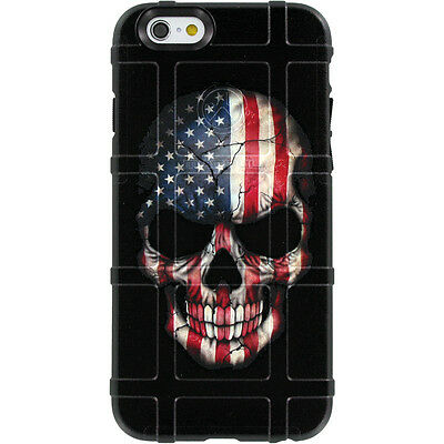 $39.95 • Buy Magpul Field Case For IPhone SE,4,5,5s. Custom Skull USA Flag By Ego Tactical
