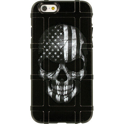 $39.95 • Buy Magpul Field Case For IPhone SE,4,5,5s. Skull Black Sub. USA Flag Ego Tactical