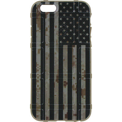$39.95 • Buy Magpul Field Case For IPhone SE,4,5,5s. Custom Black Subdued USA Flag DDC FDE