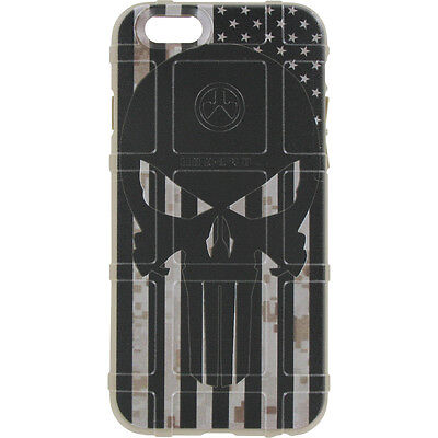 $39.95 • Buy Magpul Field Case For IPhone SE,4,5,5s. Custom Black Sub. USA Flag Punisher DDC