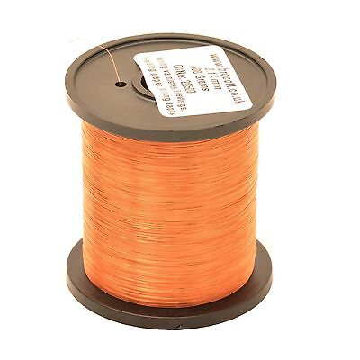 0.40mm ENAMELLED COPPER WIRE - COIL WIRE, HIGH TEMPERATURE MAGNET WIRE - 250g • 8.95£