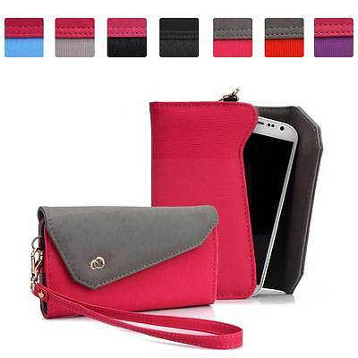 £11.51 • Buy Womens Link Wallet Case Clutch Cover For Smart Cell Phones By KroO CRWL5